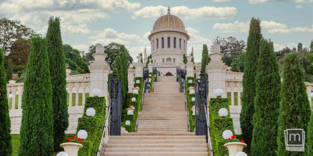 Zwiedzanie Hajfy - Ogrody Bahaitów